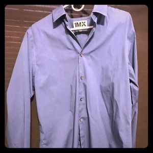 Men's Express long sleeve Large Fitted Shirt